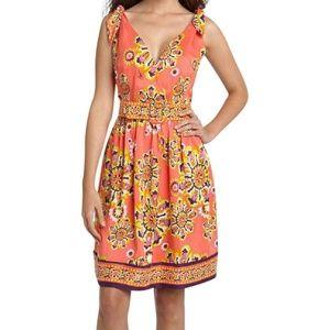 NEW Trina Turk Silk Print Dress  Final Price